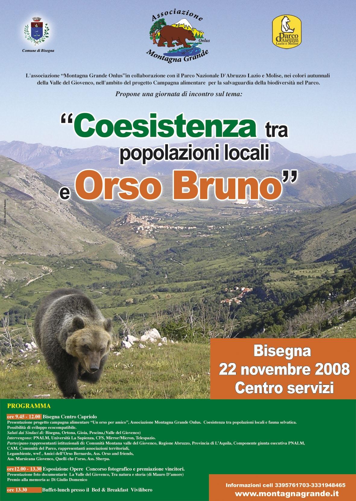 Coesistenza tra popolazioni locali e orso bruno for Cabina di montagna grande orso